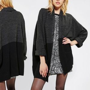 Urban Outfitters BDG Colorblock Open Cardigan